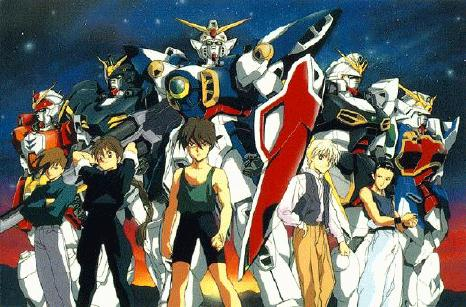 """Mobile Suit Gundam Wing"" Review"